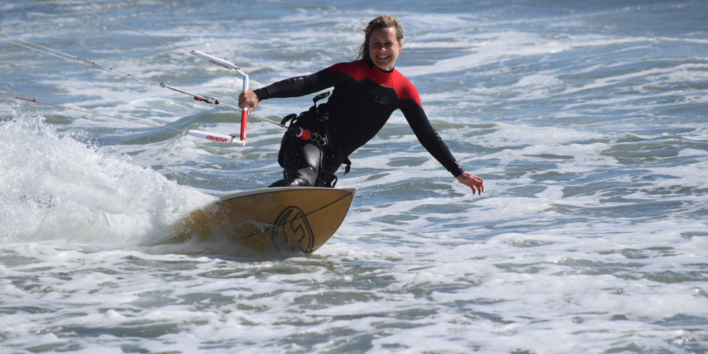 Lydia Snider, Kitesurfing Waddell, Kitesurfing & Entreprenership